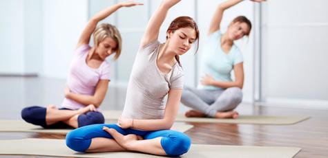 Занятия йогой в новой студии йоги «Self Center»!