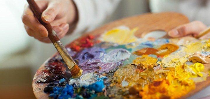2-часовой мастер-класс по живописи в творческой мастерской «Art Garden»
