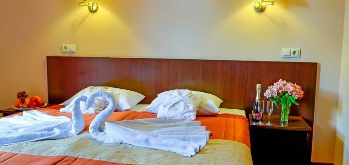 От 3 дней VIP-отдыха для двоих с 2-разовым питанием в «Романтик СПА-отель» в Яремче