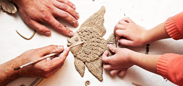 Скидка 50% на обучающий курс лепки из глины и пластилина для детей в центре «ТалантВилль»