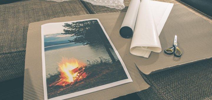Печать плаката с любым изображение от «Monohrom»