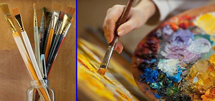 Раскрой в себе творца! 5, 10 или 15 занятий живописью маслом в студии живописи «Охра»!