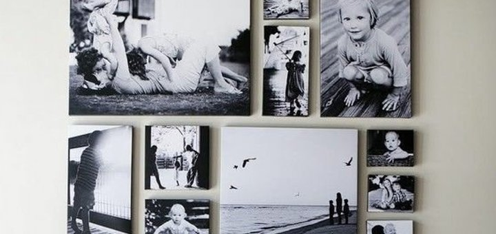 Скидка 25% на печатать фото на холсте в фотоцентре «ZOOM»