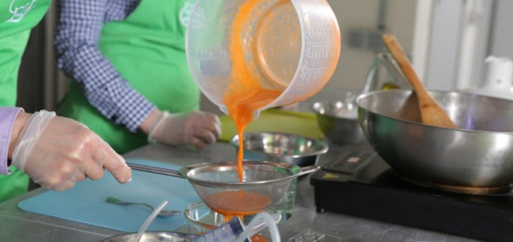 Мастер-класс по молекулярной кухне для одного или для двоих в школе «Кулинарная мастерская»