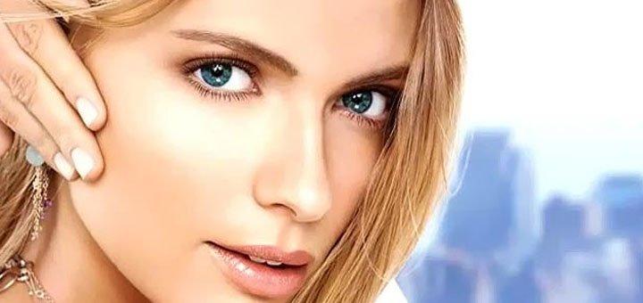 Безинъекционная мезотерапия «Оxy derma» для лица или волос в клинике «Дерматология плюс»