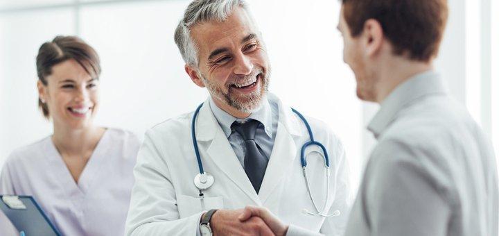 Обследование у невропатолога или терапевта в клинике имени В.В. Гальченко
