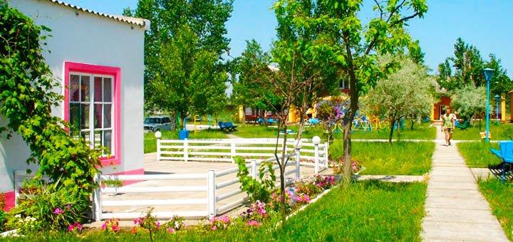 От 3 дней семейного отдыха в июне с питанием на базе отдыха «Січ» в Каролино-Бугазе