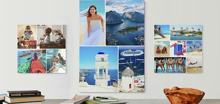 Скидка до 40% на фото-картину на холсте от «Popartbox»