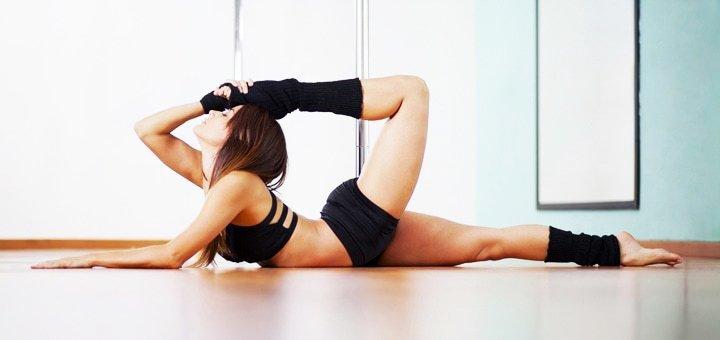 До 16 занятий пол-денс в школе танца и растяжки «PaPillon»