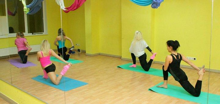 До 16 занятий по стретчингу, флай-стретчингу и основам хореографии в школе танцев «PaPillon»