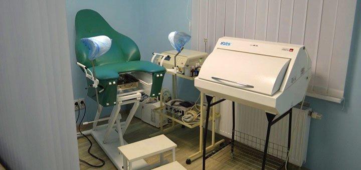 Обследование у гинеколога в медицинском центре «Медицинская практика»