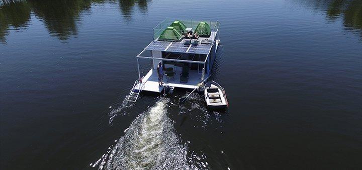 Скидка до 26% на сплав на плоту и рыбалку на Днепре от компании «DniproSplav»