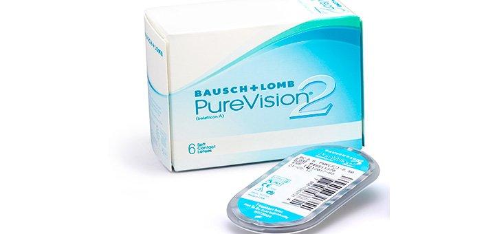 При покупке линз непрерывного ношения «PureVision 2 HD» (3 шт) - четвертая в подарок