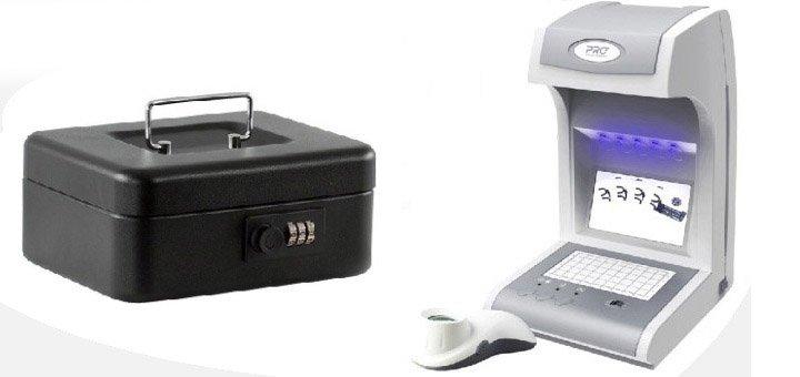 При покупке детектора валют «PRO-1500 IRPM» - бокс для денег в подарок