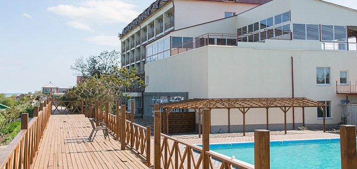 От 2 дней отдыха в августе с трехразовым питанием в новом SPA-отеле «Panorama» в Кирилловке