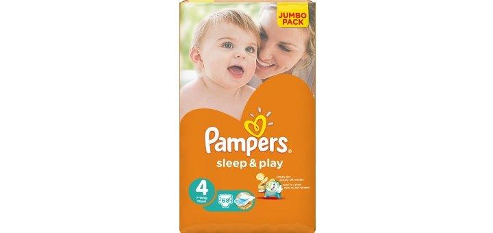 Скидки до 20% на подгузники и салфетки «Pampers»