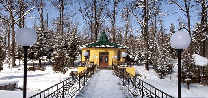 От 4 дней отдыха и лечения на Новый год и Рождество в санатории «Конвалія» в Трускавце