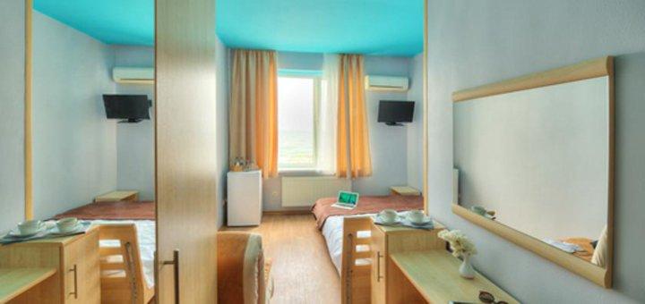 От 2 дней отдыха для двоих в отеле на берегу моря «Бригантина» в Одессе