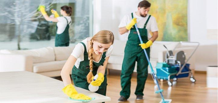 Комплексная уборка помещений специалистами компании «Clean group»