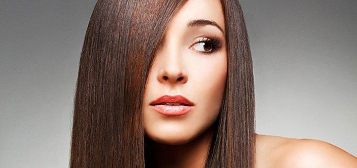 Стрижка горячими ножницами, ламинирование и укладка волос в салоне красоты «Fen-x»