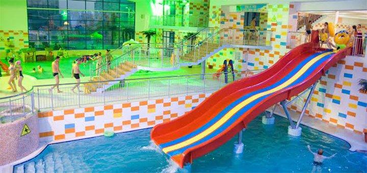 Знижка 50% на відвідування аквапарку «Пляж» у Львові
