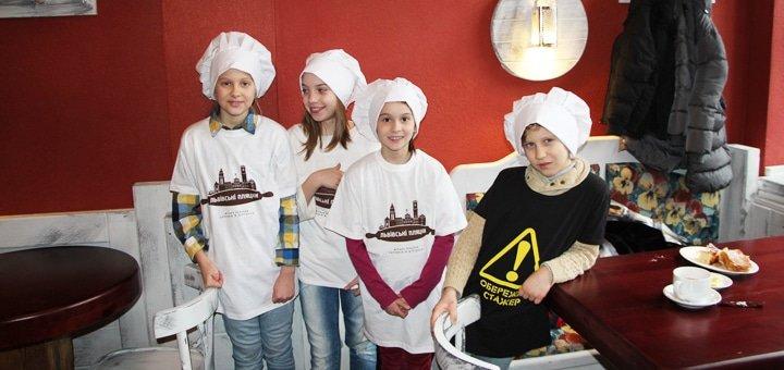 Майстер-клас під наставництвом штрудельмайстра від кав'ярні «Львівські Пляцки»