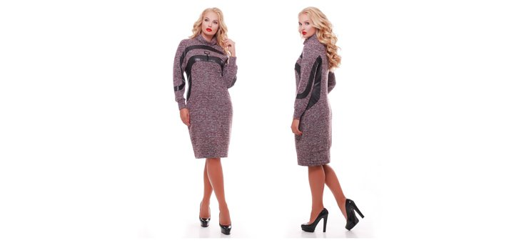 Скидка до 30% на платья, костюмы, рубашки, блузы, туники больших размеров