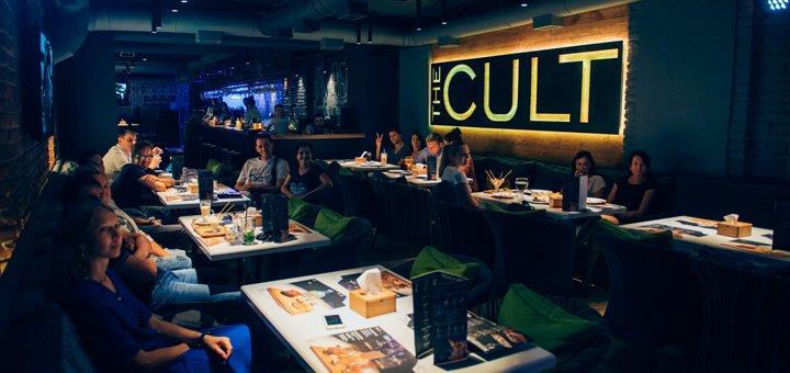 Comedy вечори в «The Cult»: придбай два квитки, а третій обміняй на купон