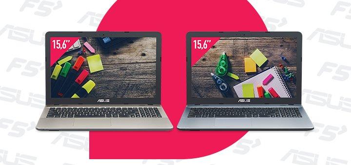 Супер цены на ноутбуки «ASUS» в «Техносети F5»