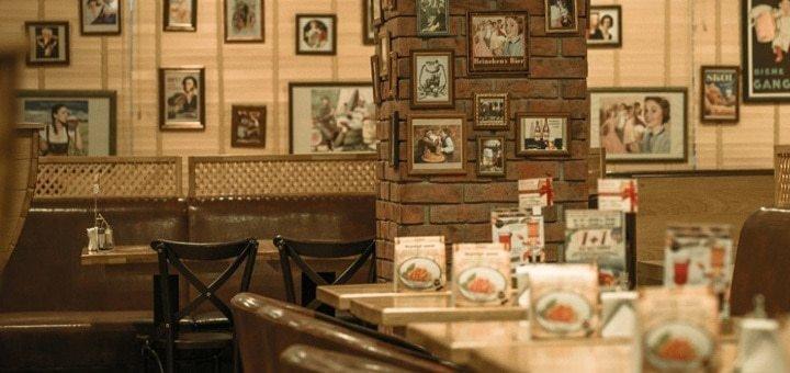 Скидка 50% на все блюда и бургеры в традиционной баварской пивной «Бавариус»