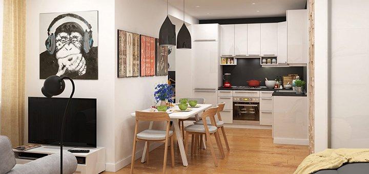 Индивидуальный дизайн-проект для жилого помещения от студии дизайна и архитектуры «Status DS»