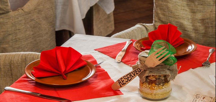 Кулинарный мастер-класс по приготовлению зеленых равиоли в ресторане «Блинофф»