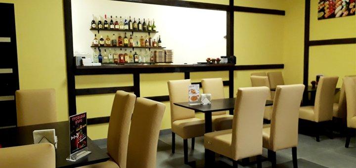 Скидка 50% на всё меню кухни в новом суши-баре «Sensei Sushi» в центре города