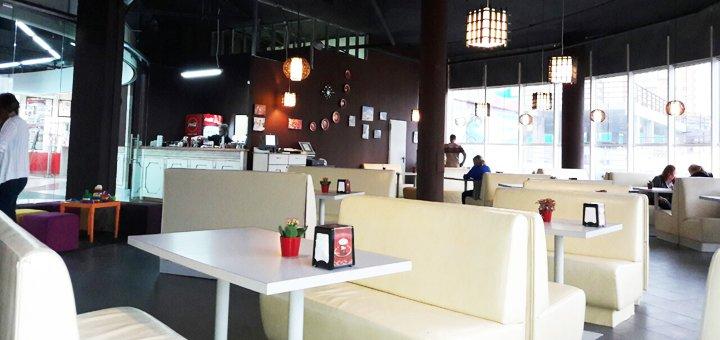 Скидка до 23% на меню в пиццерии «SoloPIZZA» в ТЦ  Мармелад