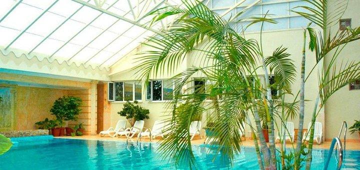 До 30 посещений бассейна в отельном комплексе «Морской»