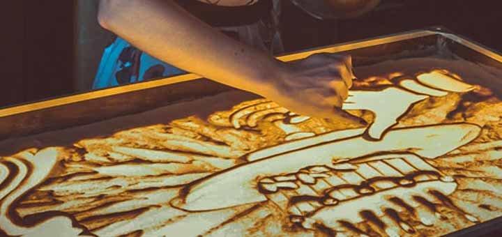 Уникальное песочное шоу на день рождение, свадьбу или корпоратив от арт-студии «ArtiShock»