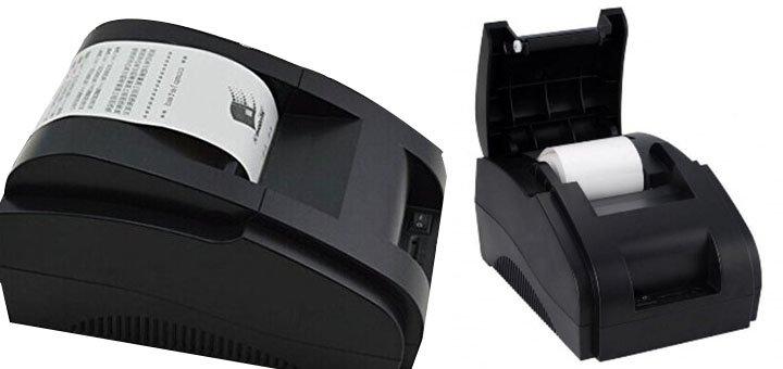 При покупке принтера чеков «XPrinter XP-58IIH» - кассовая лента в подарок