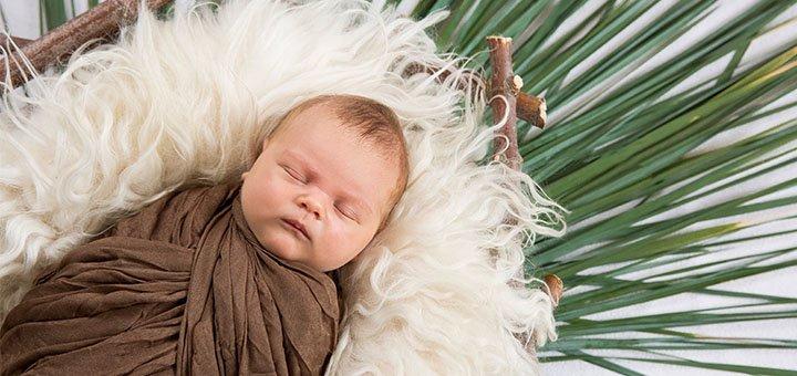 Скидка 20% на фотосессию новорожденного при заказе фотосессии беременности от «Baby box»