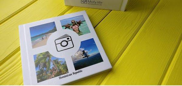 Скидка 30% на современные инстабуки c историей вашего путешествия от «Popartbox»