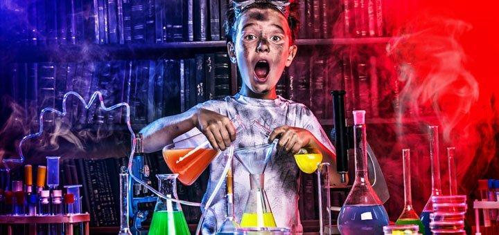 Билет на посещение парка развлечений «Лаборатория чокнутого профессора» в будние дни