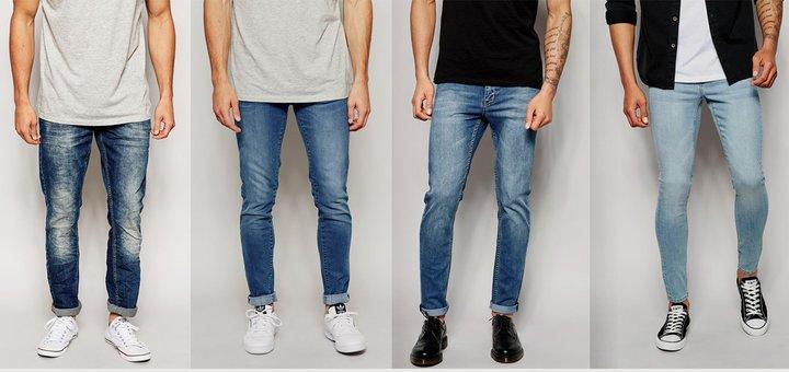 Скидка 10 % на мужские джинсы от интернет-магазина «La-Sveet»