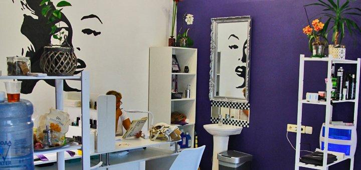 Стильная мужская стрижка и укладка в студии красоты «Merlin»