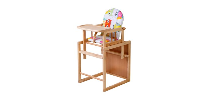 При покупке 2-х стульчиков для кормления Kombi – 3-й в подарок