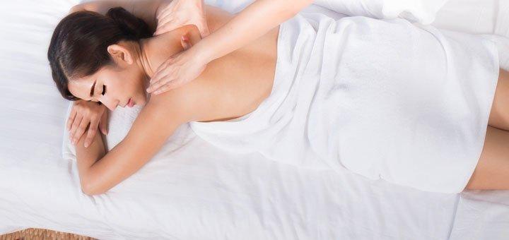 До 7 сеансов массажа и обертывания в массажном салоне «Три грации»