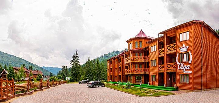 От 3 дней отдыха с питанием в корпусе «Olga DeLuxe» в отеле «Ольга» в Татарове в Карпатах