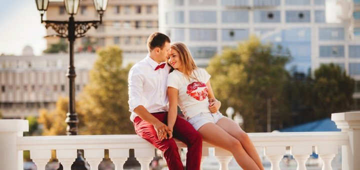 Cтудийная фотосессия «Love Story» от фотостудии «ZAVARKA»