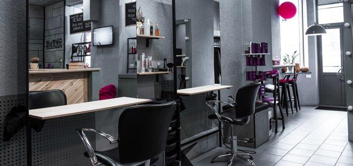 Модная стрижка и укладка волос от салона красоты «CUTME Studio»
