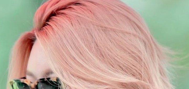 Стрижка, окрашивание, лечебные процедуры для волос в салоне красоты «Diana Tkachenko»