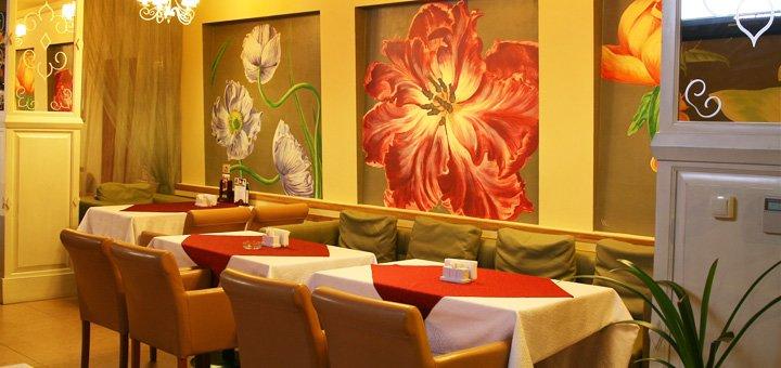 Cкидка до 50% на все меню кухни и вина Франции в ресторане «Jardin»