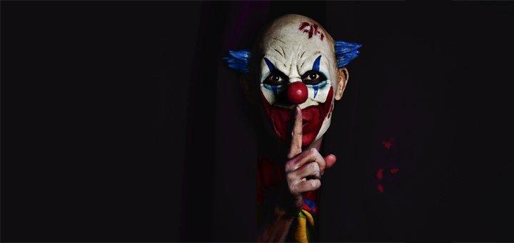 Скидка 35% на прохождение квест-комнаты «Гримерная клоуна» в клубе досуга «ХИД»